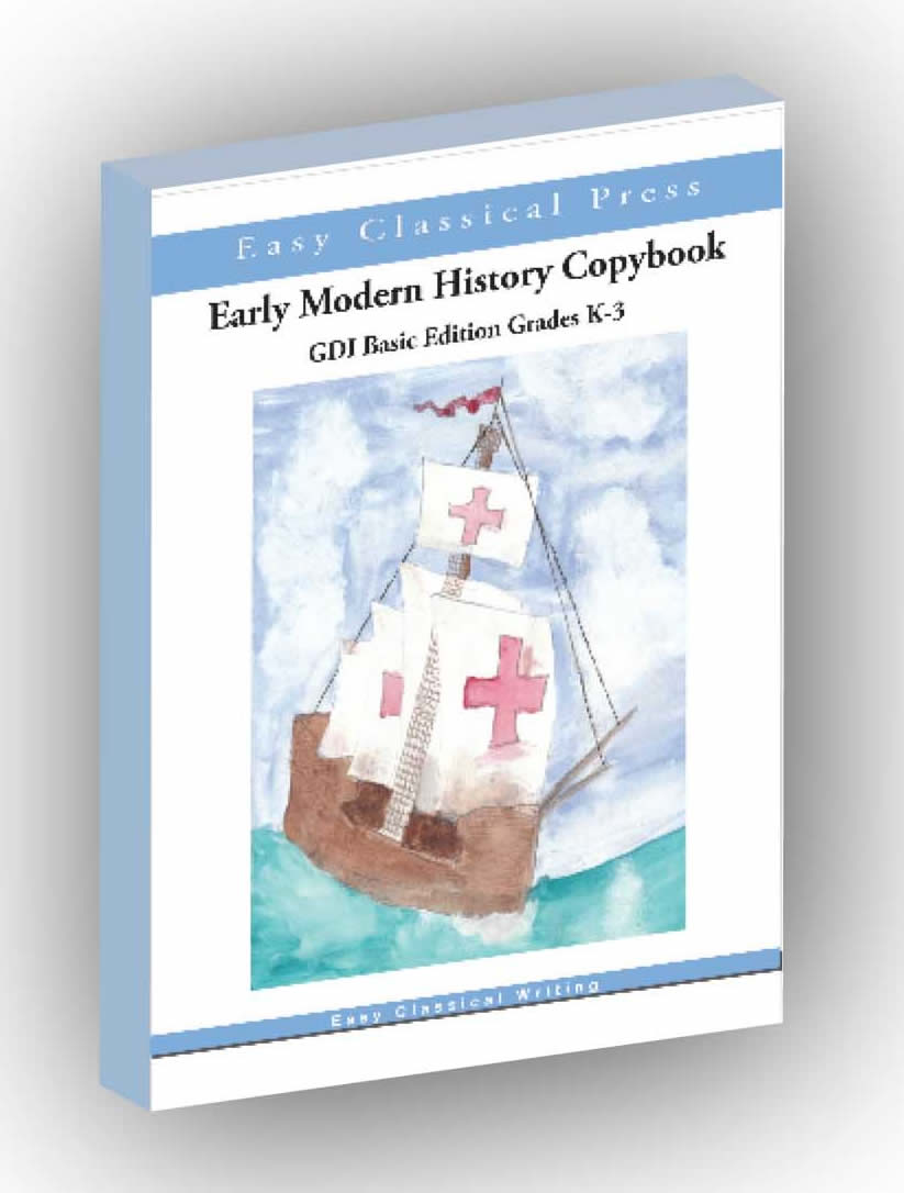 Early Modern History Copybook K-3