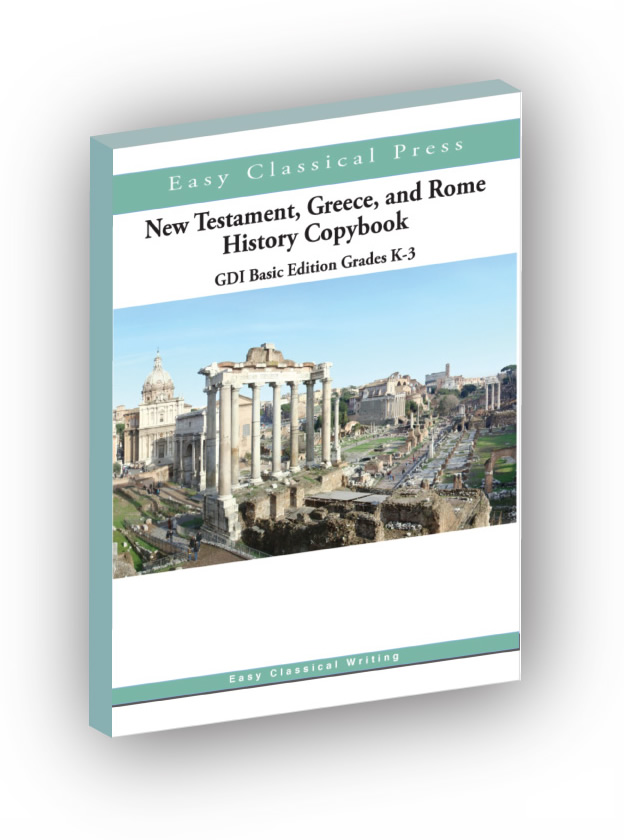 NT, Greece, and Rome History Copybooks