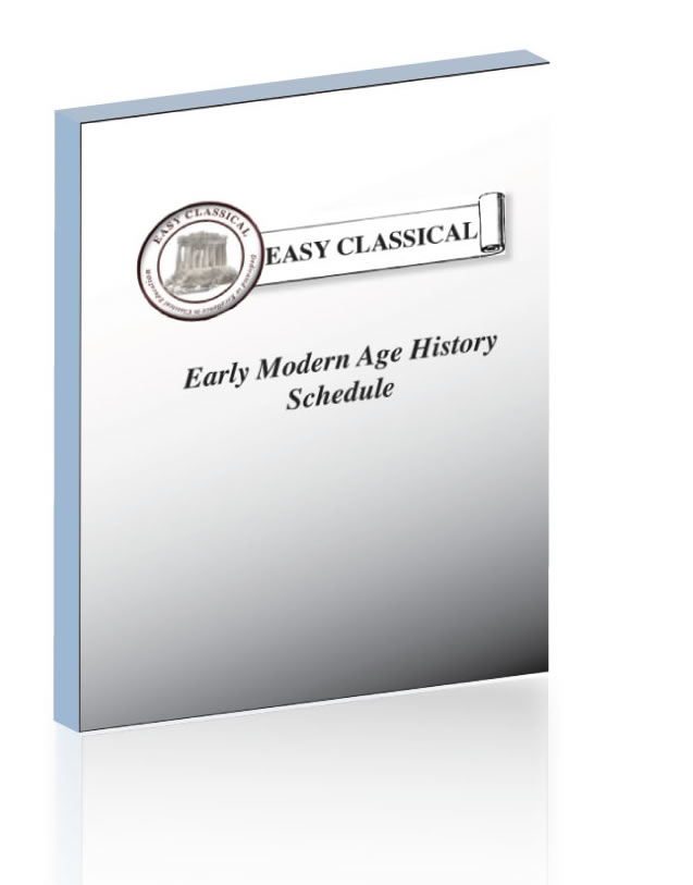 Early Modern History Schedule