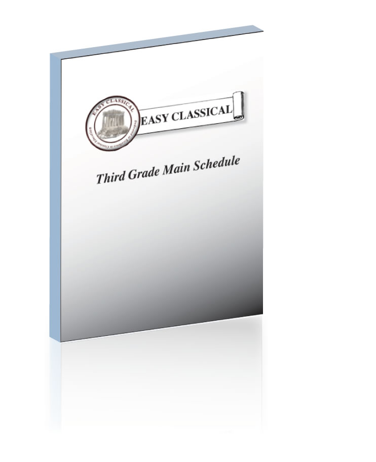 Third Grade Main Schedule