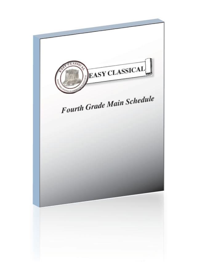 Fourth Grade Main Schedule