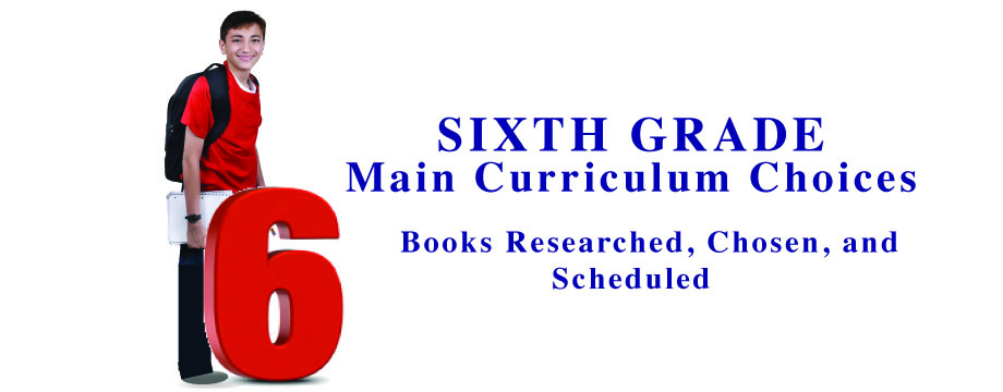 Sixth Grade Main Curriculum Choices