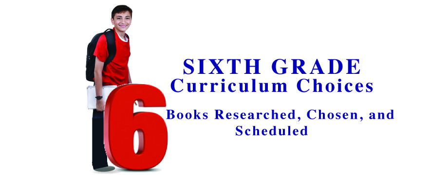 Sixth Grade Complete Curriculum Choices